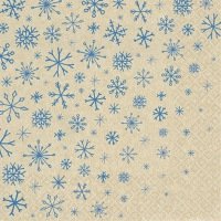 Servilletas 33x33 cm - Snowflakes Falling