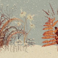 Serviettes 33x33 cm - Winter Greenery