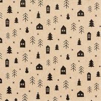 Serviettes 33x33 cm - Forest Cottage