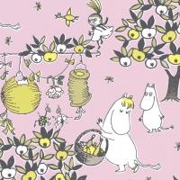 Servilletas 24x24 cm - Festive Moomin pi