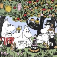 Tovaglioli 33x33 cm - Party Moomin