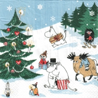 Napkins 33x33 cm - Christmas Wonderland