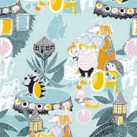 Serwetki 33x33 cm - Fairy Tale Moomin