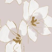 Napkins 24x24 cm - Amaryllis