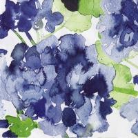 Napkins 24x24 cm - Pelargonia