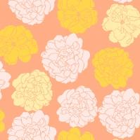 Napkins 24x24 cm - Muusa oranss