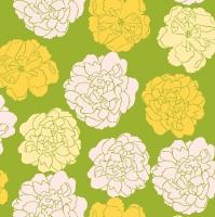 Napkins 33x33 cm - Muusa vihreä