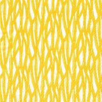 Napkins 33x33 cm - Sade keltain