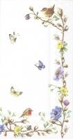 Buffet napkins - EASTER FLOWERS V&B