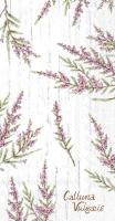 Serviettes de table - CALLUNA VULGARIS grey