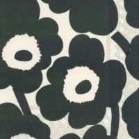 Napkins 25x25 cm - UNIKKO cream green