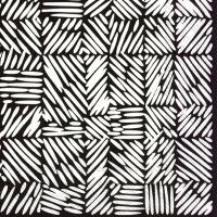 Napkins 25x25 cm - JUUSTOMUOTTI black
