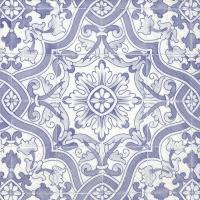 Servietten 25x25 cm - GIULIA blue