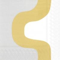 Servilletas 25x25 cm - SEIREENI gold