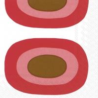 Napkins 25x25 cm - MELOONI red