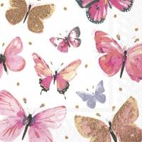 Napkins 25x25 cm - NATHALIE pink
