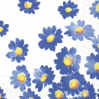 Serviettes 25x25 cm - AGNETHA blue