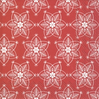 Napkins 25x25 cm - EBBA red