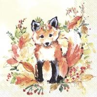 Napkins 25x25 cm - SWEET FOX