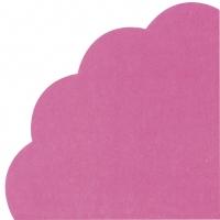 Servilletas - Redondas - UNI dark pink