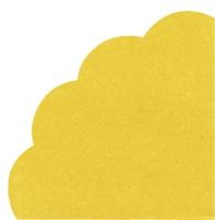 Servilletas - Redondas - UNI yellow