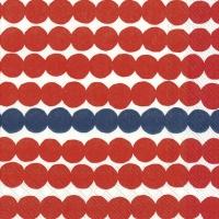 Serviettes 33x33 cm - RÄSYMATTO red blue