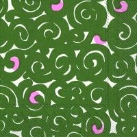 Serwetki 33x33 cm - SONAATTI green