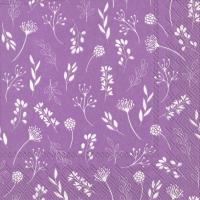 Napkins 33x33 cm - TILDA lilac