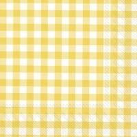 Servilletas 33x33 cm - TAVERNA yellow