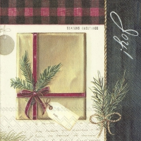 Napkins 33x33 cm - HOLIDAY WRAPPING