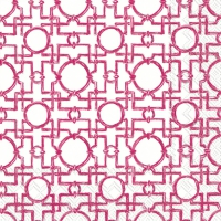 Napkins 33x33 cm - AIKO pink