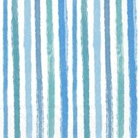 Napkins 33x33 cm - COLOURFUL STRIPES blue