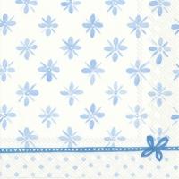 Napkins 33x33 cm - DARCY light blue