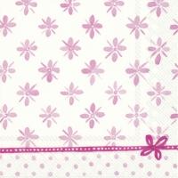 Serviettes 33x33 cm - DARCY light rose