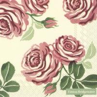 Serviettes 33x33 cm - PINK ROSES