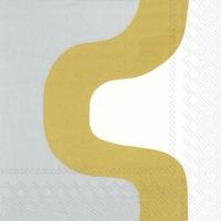 Servilletas 33x33 cm - SEIREENI gold