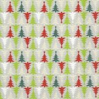 Napkins 33x33 cm - TREES IN LINE linen