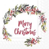 Napkins 33x33 cm - HANNAH MERRY CHRISTMAS