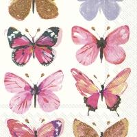Napkins 33x33 cm - NATHALIE pink