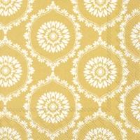 Serviettes 33x33 cm - JOSEPH yellow