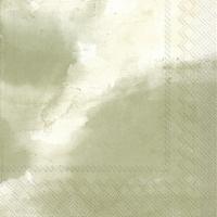 Servietten 33x33 cm - NILAY olive