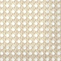 Servilletas 33x33 cm - GEFLECHT white