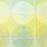 Napkins 33x33 cm - EMI green