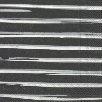 Serwetki 33x33 cm - QUITO black
