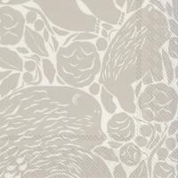 Serviettes 33x33 cm - KARHUEMO cream