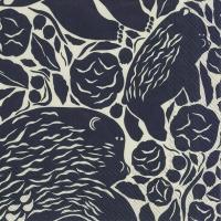 Serviettes 33x33 cm - KARHUEMO linen black