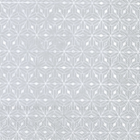 Napkins 33x33 cm - CRYSTAL ORNAMENTS silver