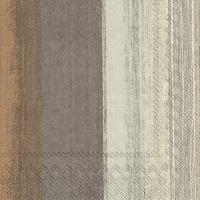 Napkins 33x33 cm - SARINA brown