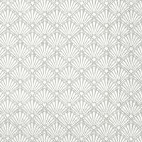 Napkins 33x33 cm - ROCAILLE white silver