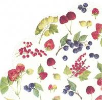 Serwetki - okrągłe - FRUITS OF SUMMER